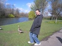 Bryan as duck