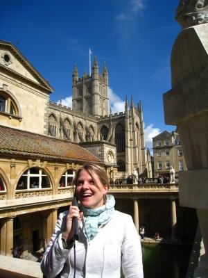 Yael audio tour Roman Baths
