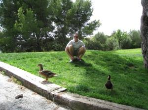 Greg Majorca ducks