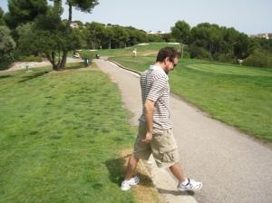 Bry walking golf course Majorca