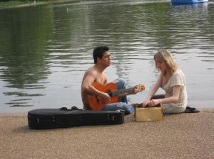 serenade along Serpentine