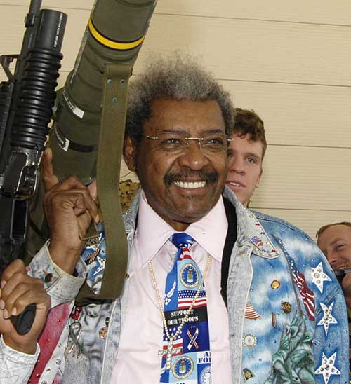 Don King MMA rocket launcher