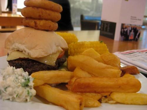 USA hamburger